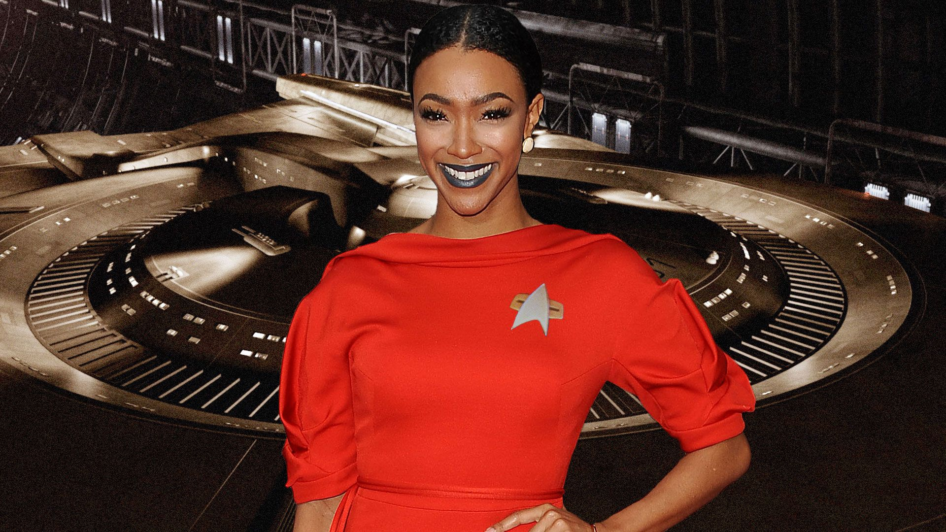 Sonequa Martin-Green, Star Trek, Photoshop