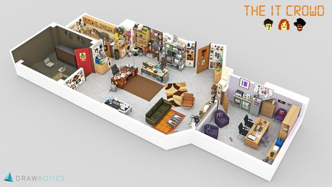 Tv Floorplans How The Apartments In Your Favourite Shows Are Actually Laid Out