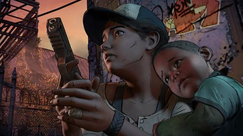 The Walking Dead's Clementine from the Telltale games might