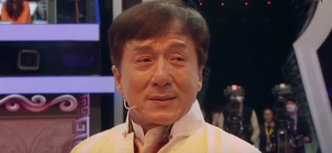 Watch the emotional moment Jackie Chan reunites with his