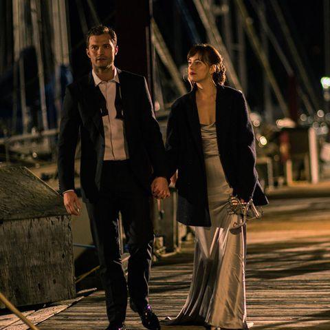 Dakota Johnson and Jamie Dornan in Fifty Shades Darker