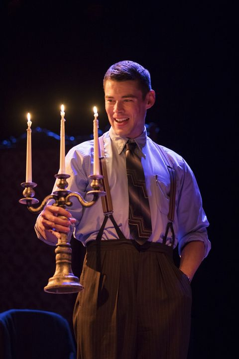 Brian J Smith in 'The Glass Menagerie'