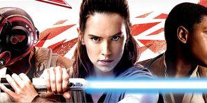 Star Wars Force Friday II Poe, Rey, Finn in The Last Jedi