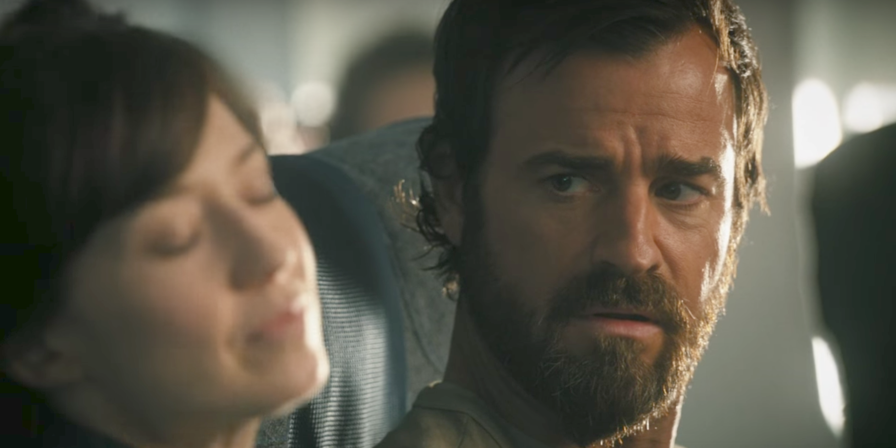 Justin Theroux in  The Leftovers' final season teaser