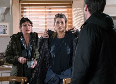 Debbie Dingle wants Cain to re-employ Ross in Emmerdale