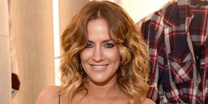 Caroline Flack attends the Stradivarius: The Event Paper event