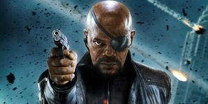 Samuel L Jackson as Nick Fury MCU