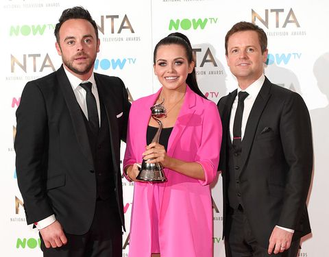 Ant and Dec with Scarlett Moffatt at the National Television Awards - NTAs 2017