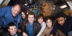 First cast photo from the Han Solo standalone movie
