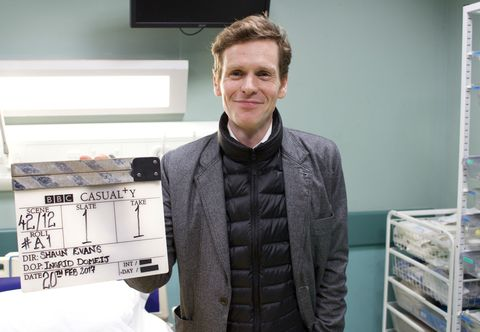 Shaun Evans as a director in Casualty