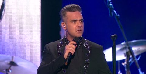 Robbie Williams confused The Brits 2017