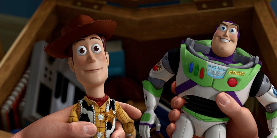 Toy Story Woody and Buzz Lightyear