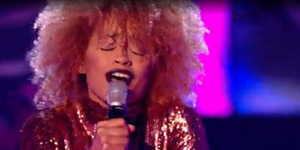 Jazmin in The Voice UK Battle rounds