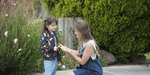 Josie Lamb speaks to Nell Rebecchi in Neighbours