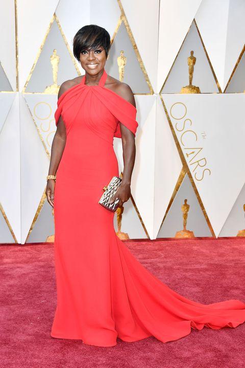 Viola Davis, Oscars 2017 red carpet