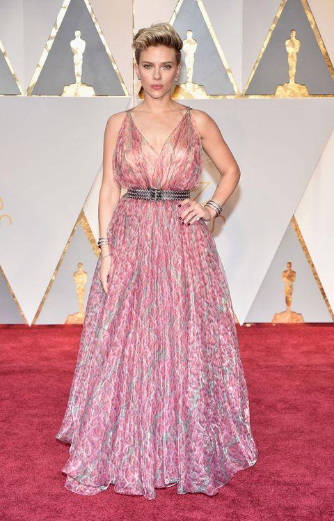 Scarlett Johansson, Oscars 2017 red carpet