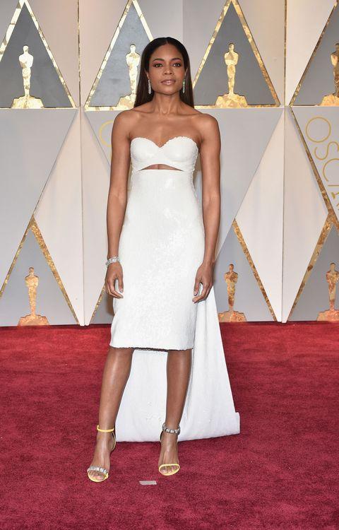 Naomie Harris, Oscars 2017 red carpet