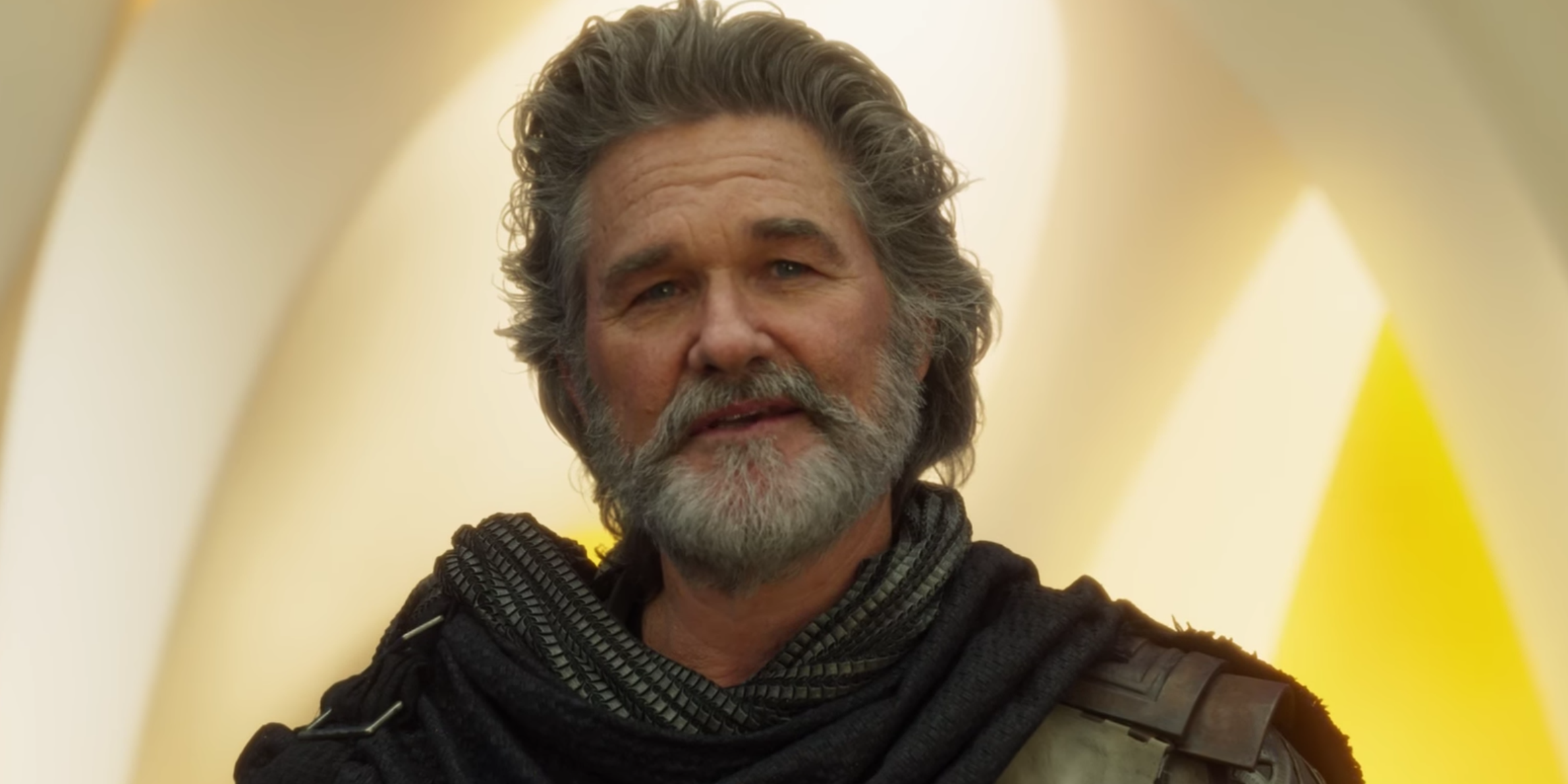 Kurt Russell in Guardians of the Galaxy Vol 2 trailer ego the living planet