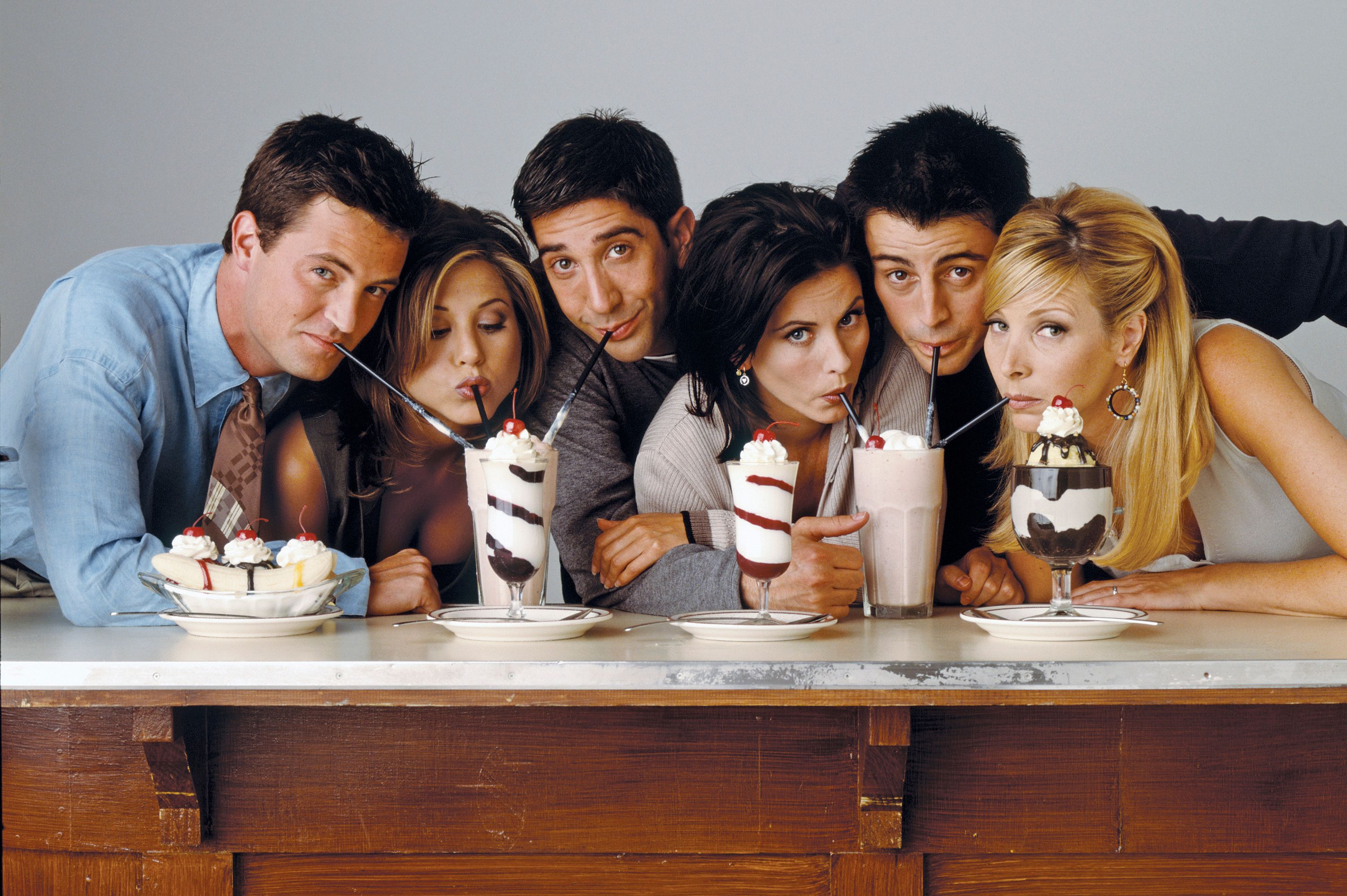 Friends cast dating history
