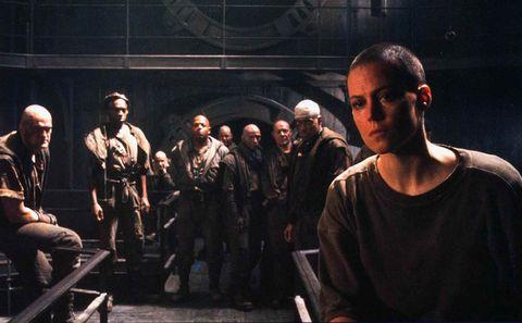 Alien3 starring Sigourney Weaver