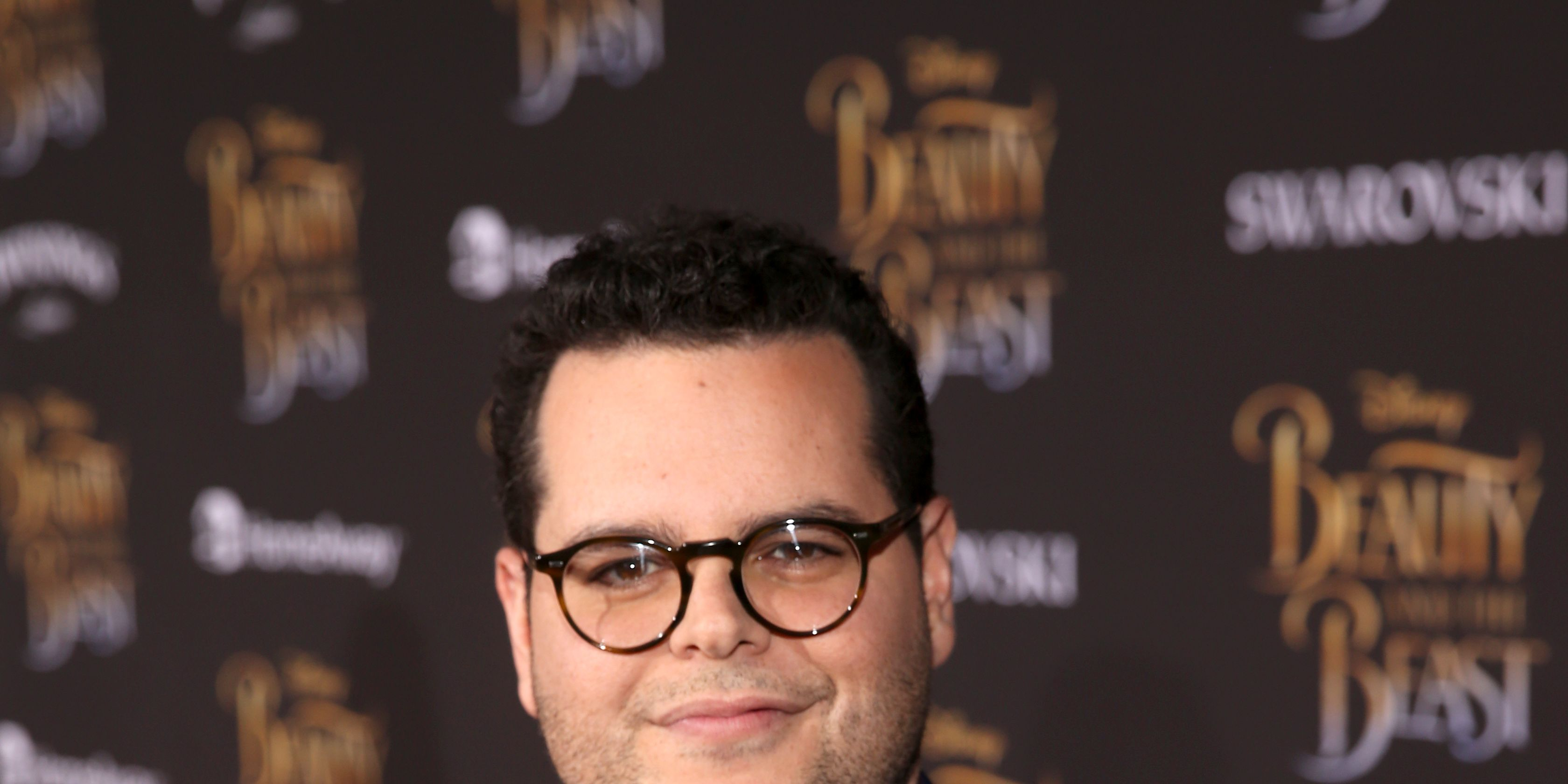 Josh Gad arrives for the world premiere of Disney's live-action 'Beauty and the Beast'