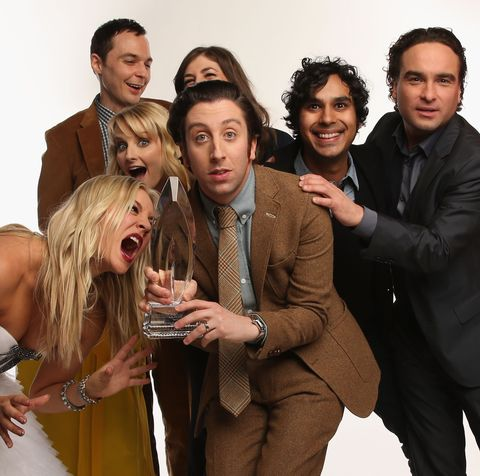 The Big Bang Theory Cast Reunite In Touching Snap After Filming Last