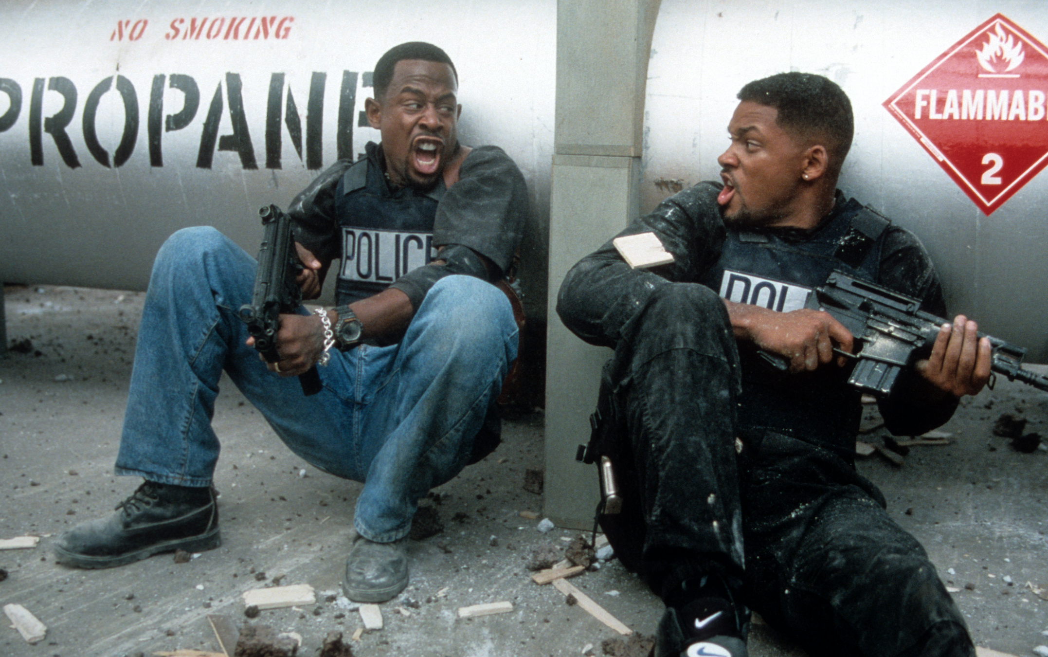 Will Smith and Martin Lawrence weren't the first choice for Bad Boys