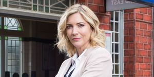 Lisa Faulkner as Fi Browning in EastEnders