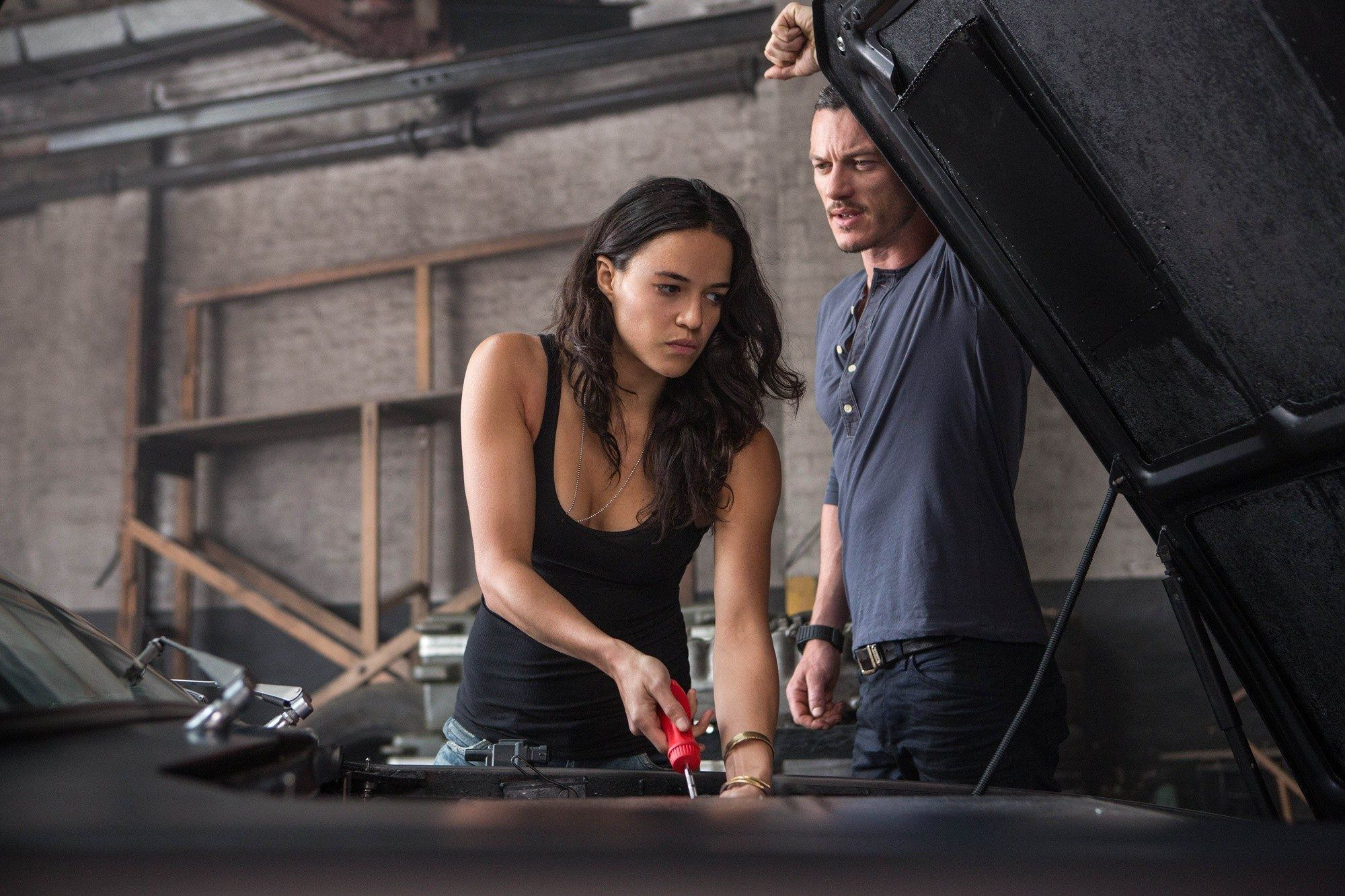 In a post-credits scene, Letty is revealed to be alive.