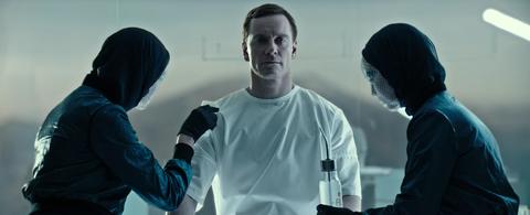 Michael Fassbender as Walter in Alien: Covenant