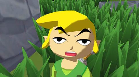 The Legend of Zelda: The Wind Waker HD.