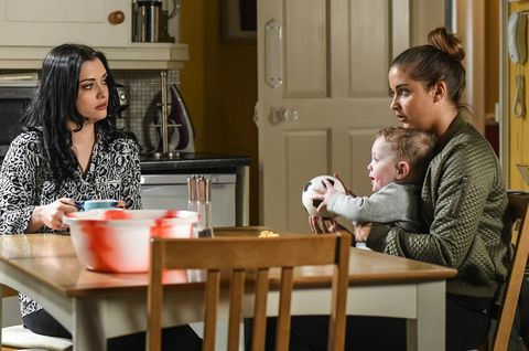 Lauren Branning confides in Whitney Dean about her problems with Steven Beale in EastEnders