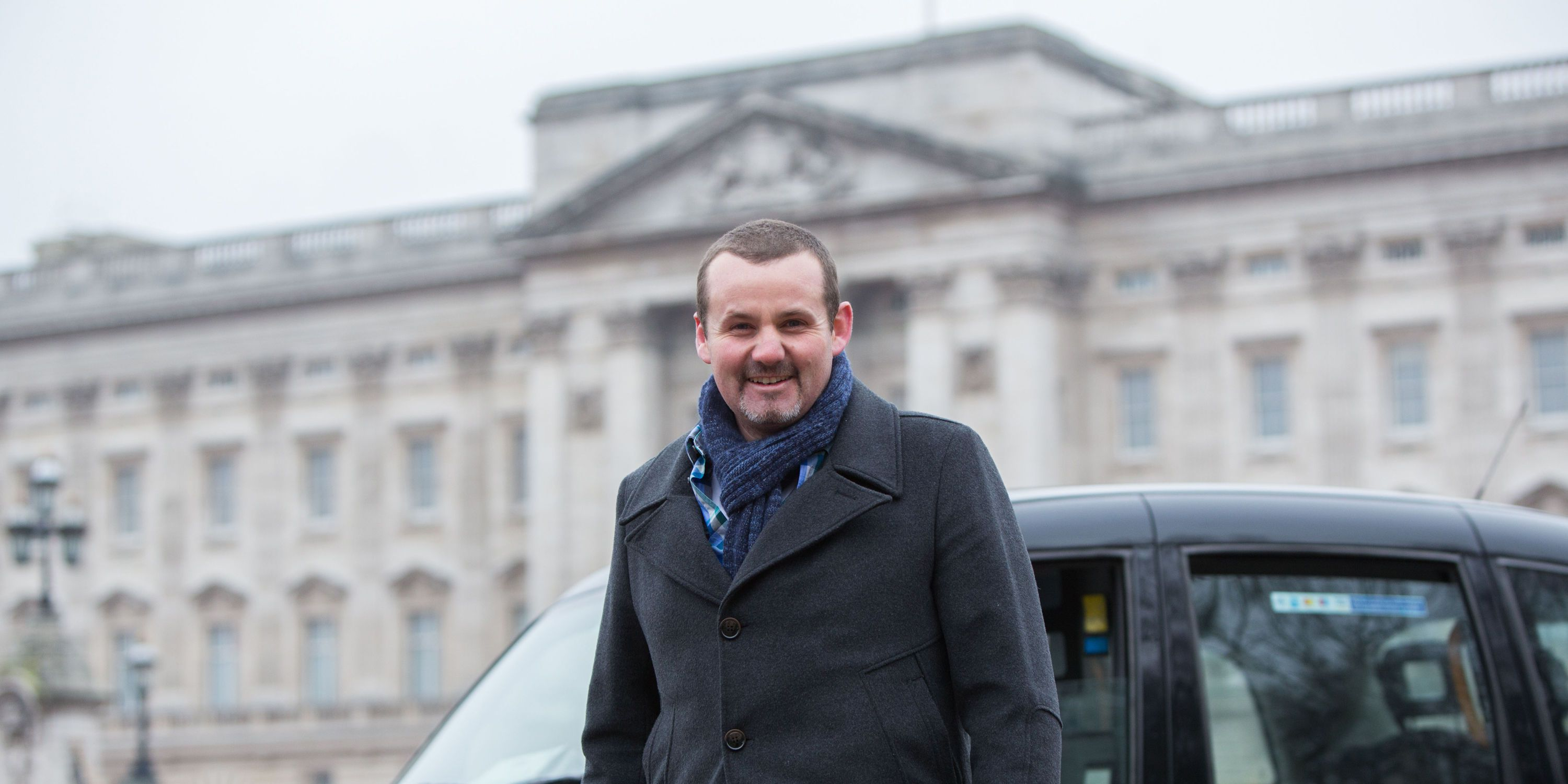 Toadie Rebecchi visits Buckingham Palace in Neighbours