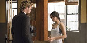 Danny Rand (Finn Jones) and Colleen Wing (Jessica Henwick) in 'Iron Fist'