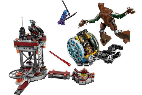 """<p>Cosmic anti-heroes Star-Lord, Gamora, Groot and Rocket feature in three kits – Milano Spaceship Rescue, Starblaster Showdown and Knowhere Escape Mission. And if <em data-redactor-tag=\em\""""><a href=\""""http://www.digitalspy.com/movies/guardians-of-the-galaxy/\"""" target=\""""_blank\"""" data-tracking-id=\""""recirc-text-link\"""">Guardians 2</a>&nbsp;</em>is more your thing"""