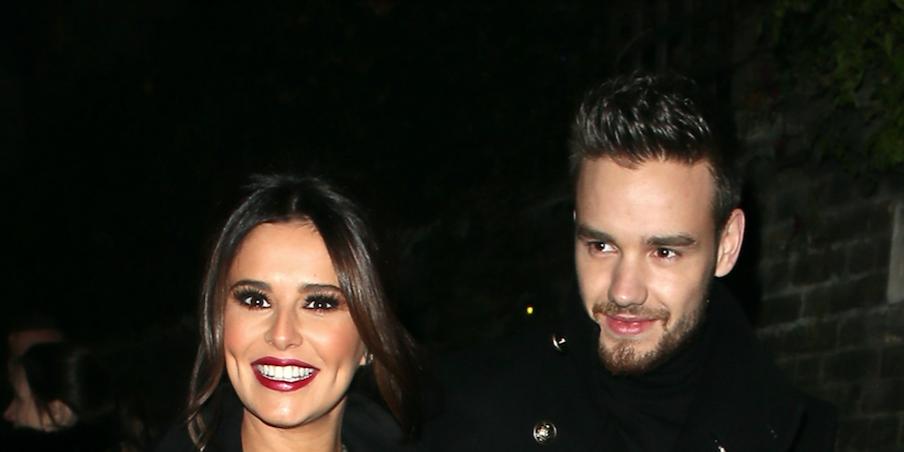 Cheryl and Liam Payne in November 2016