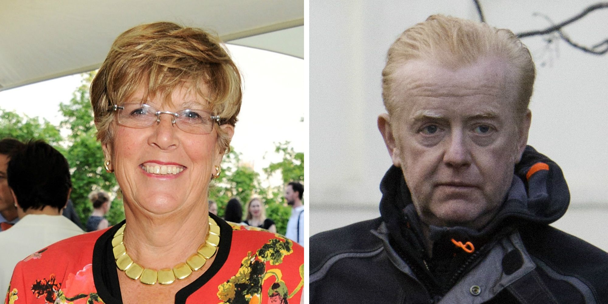 Prue Leith and Chris Evans