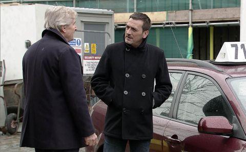 EMBARGO 21/3 Peter is furious with Ken in Coronation Street