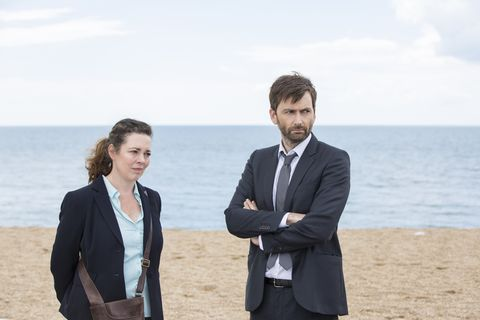DS Miller and DI Hardy in 'Broadchurch' s03e04