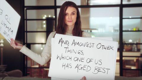 Keira Knightley in Love Actually sequel trailer