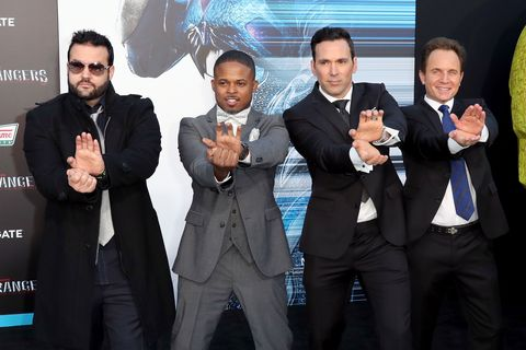 What happened to the original Mighty Morphin Power Rangers cast?