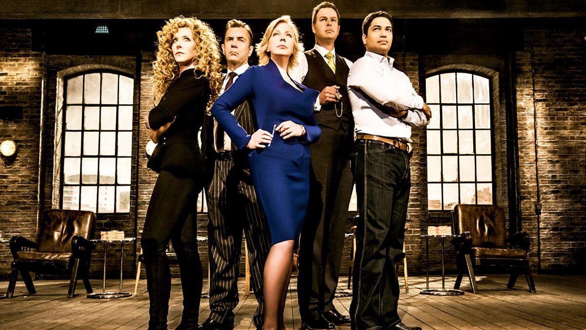 We've all seen the intimidating panel on BBC's Dragons' Den, sat behind piles
