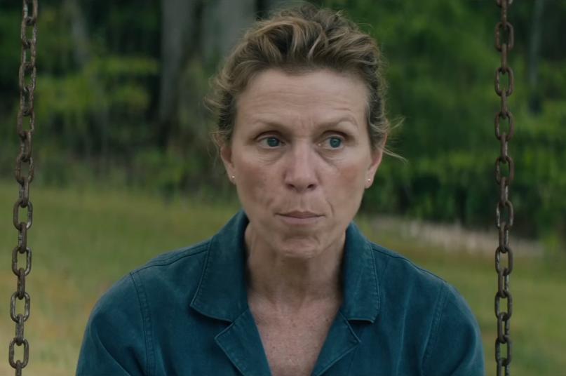 Frances McDormand in Three Billboards trailer