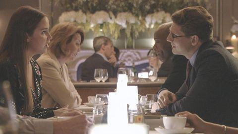 Lauren Branning meets up with Josh Hemmings in EastEnders