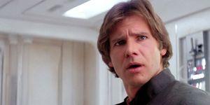 Han Solo who's scruffy looking? Star Wars