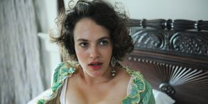 Jessica Brown Findlay in 'Harlots'
