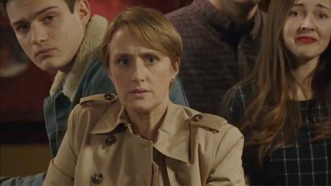 Preston Cooper and Michelle Fowler's secret is exposed in EastEnders