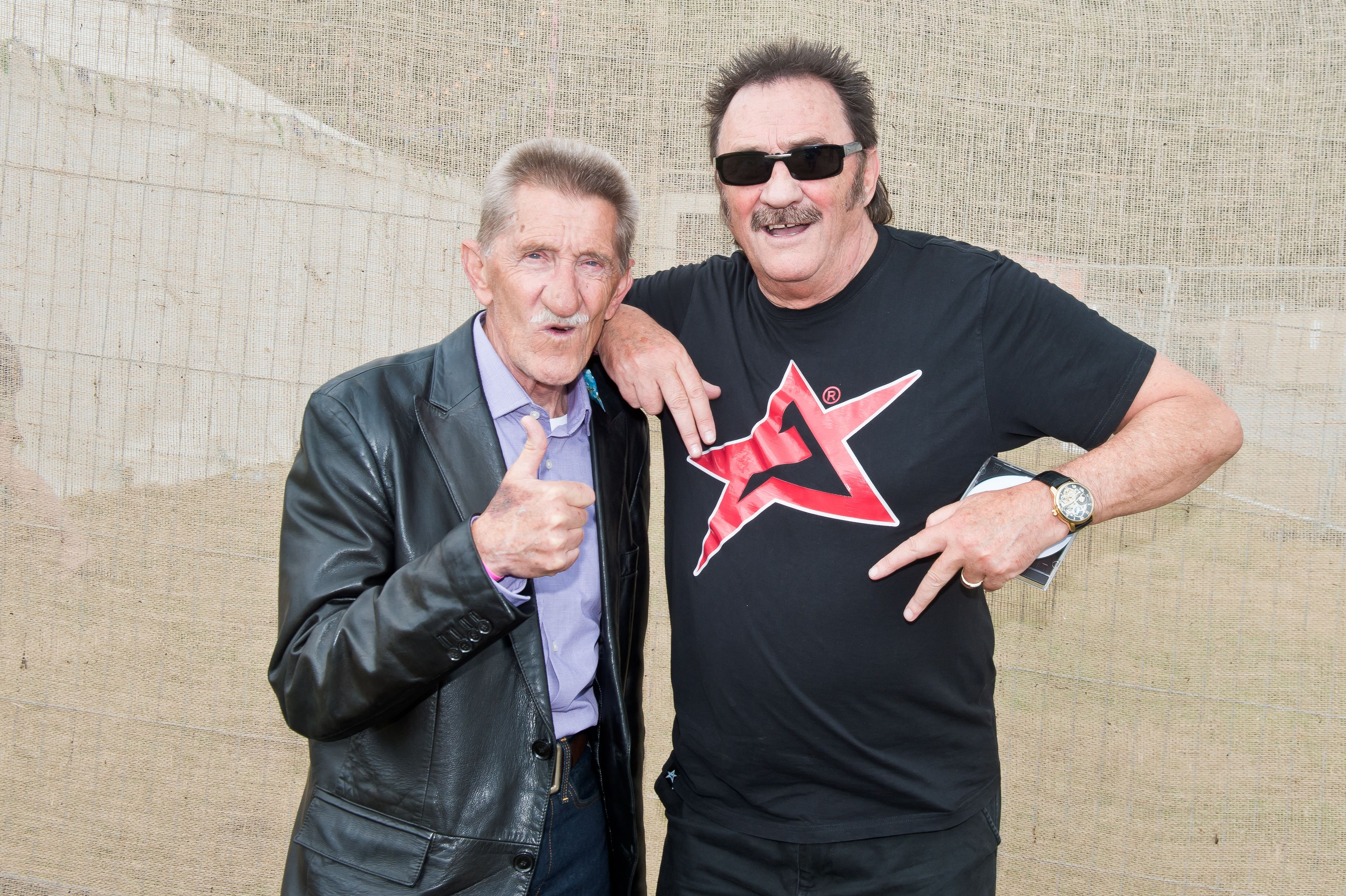 Wait, are the Chuckle Brothers joining the cast of Benidorm?!