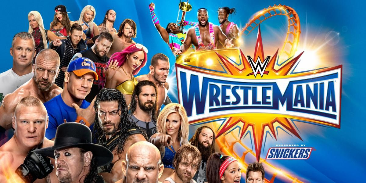 WrestleMania 33 match card