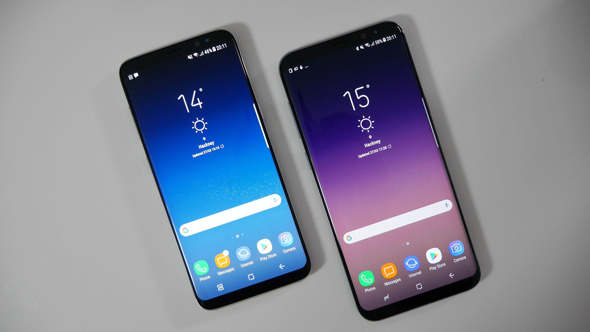 mobile spy iphone vs galaxy s8